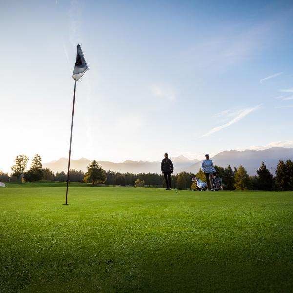 Golf in Crans-Montana, Sommer im Wallis