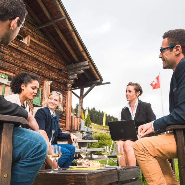 Seminar in the Portes du Soleil, summer in Valais, meetings and incentive, Switzerland
