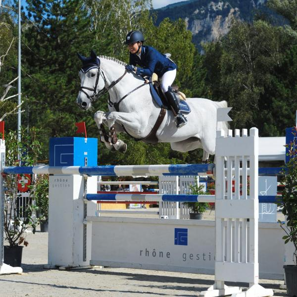 Swiss Jumping in Sion, Wallis