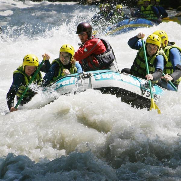 Matterhorn Rafting Adventures organizes all kind of outdoor activities, white water sports and team-building as well as firm or school excursions, Valais
