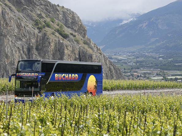 Buchard Voyages offers you tours in Switzerland and in Europe on board highly comfortable 4* coaches, Valais