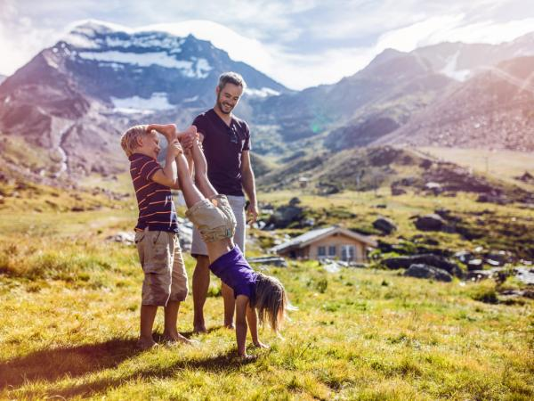 Familienspass in Saas-Fee, Sommer im Wallis