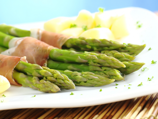 Recipes Green Asparagus and PGI dry-cured Valais