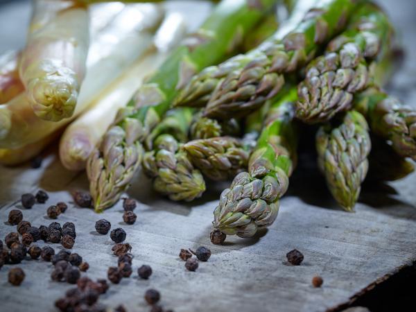 Asparagus from Valais