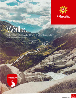 Wallis. Grand Tour of Switzerland.