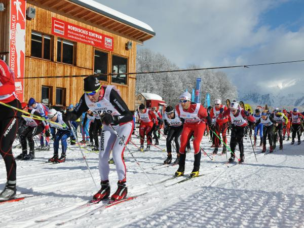 Obergoms, 43. Int. Gommerlauf 2015, Goms, Event winter, Valais