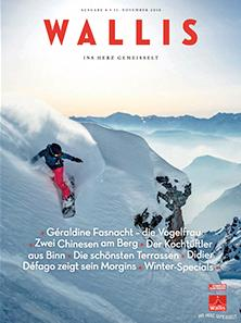 Wallis, das Magazin, November 2016