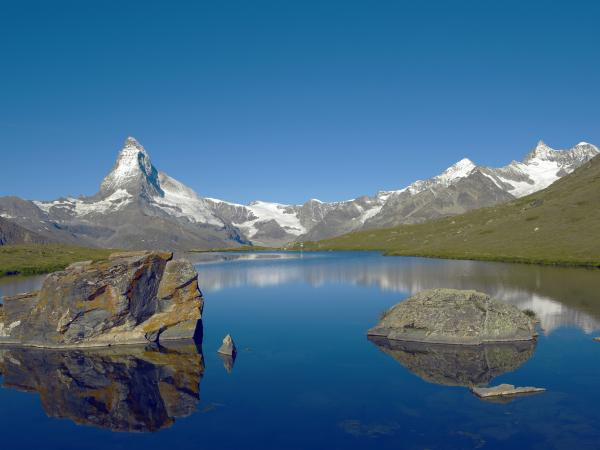 mountain lake, Valais, outdoor, nature