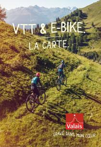 La carte VTT, Valais/Wallis Promotion
