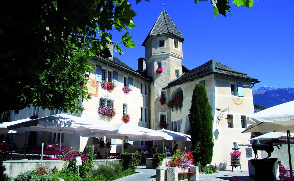 Château de Villa | Restaurants «Saveurs du Valais» in Sierre