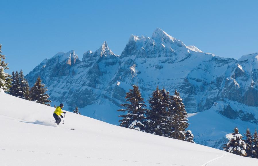 Domaine skiable des portes du soleil ski et snowboard in - Domaine skiable les portes du soleil ...