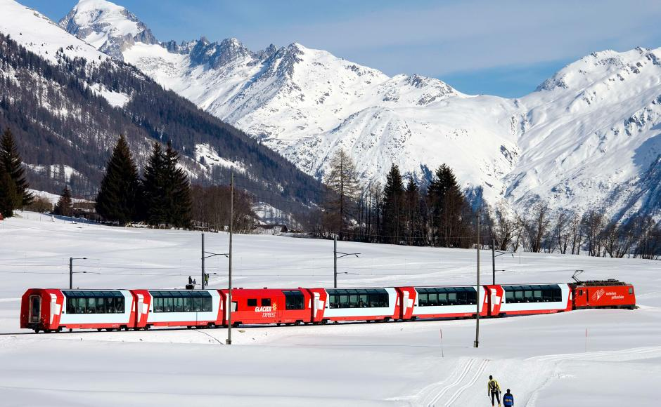Glacier Express   Discover Valais by public transports in Zermatt   Valais Switzerland