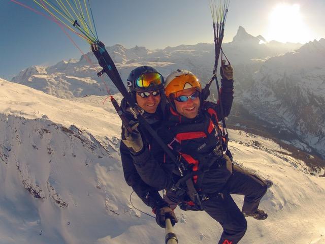 Tandemflights | Paragliding & hang gliding in Grächen - St  Niklaus