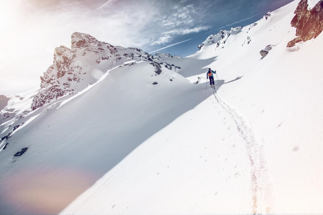 Skitouring in the Val de Bagnes